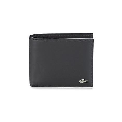 Lacoste FG men's Purse wallet in Black