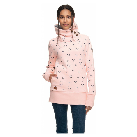 sweatshirt Ragwear Angel - 4063/Light Pink - women´s