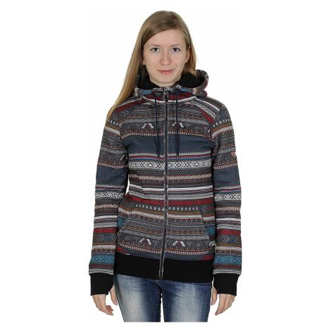 Roxy Resin Zip Sweatshirt - KVJ4/Toluca Stripe/Anthracite