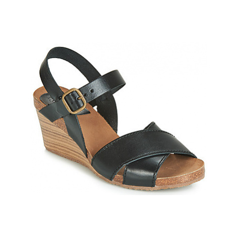 Kickers SALAMBO women's Sandals in Black