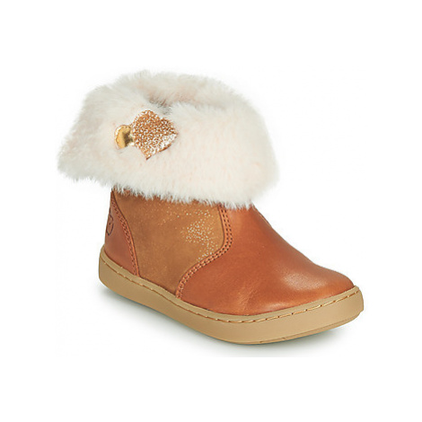 Shoo Pom PLAY FUR HEART girls's Children's Mid Boots in Brown