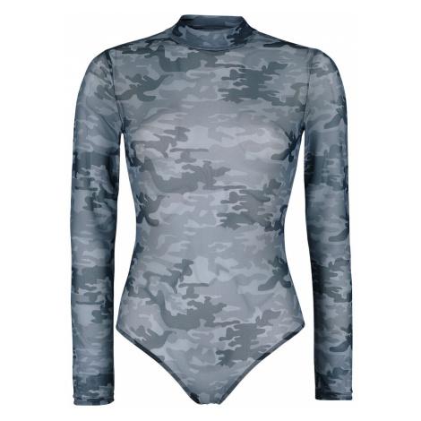 Black Premium by EMP Black Semi-Transparent Body with Camouflage Pattern Body black