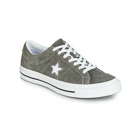 Converse ONE STAR VINTAGE SUEDE OX women's Shoes (Trainers) in Grey