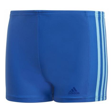 adidas FITNESS BOXER 3 STRIPES BOYS dark blue - Boys' swimsuit