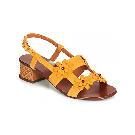 Chie Mihara QUESIA women's Sandals in Yellow