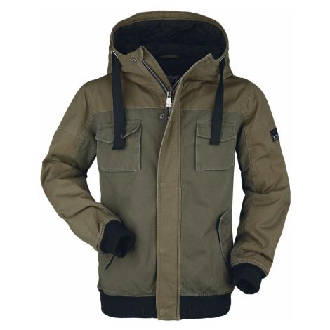 Black Premium by EMP Olive Winter Jacket with Pockets Winter Jacket olive