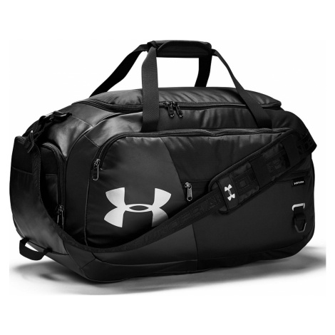 bag Under Armour Undeniable 4.0 Medium Duffel - 001/Black/Black/Silver