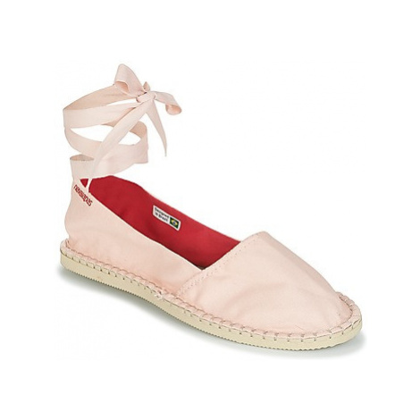 Havaianas ORIGINE SLIM women's Espadrilles / Casual Shoes in Pink