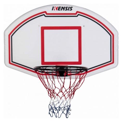 """Kensis BACKBOARD COMBO SET 44"""" white - Basketball set"""