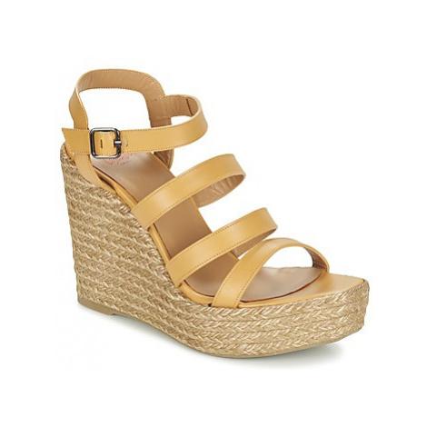 Castaner ZAYNA women's Sandals in Beige Castañer