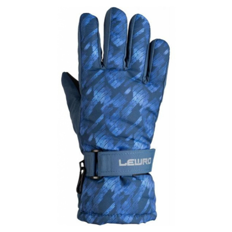 Lewro PYRY blue - Kids' ski gloves