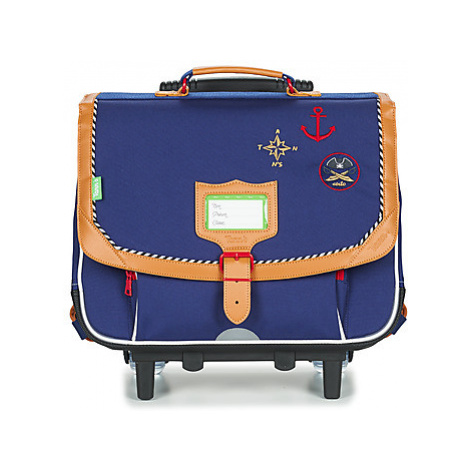 Tann's CORTO TROLLEY CARTABLE 38 CM boys's Children's Rucksack in Blue