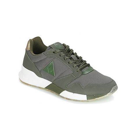 Le Coq Sportif OMEGA X W METALLIC women's Shoes (Trainers) in Green