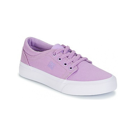 DC Shoes TRASE TX G SHOE 538 girls's Children's Shoes (Trainers) in Purple