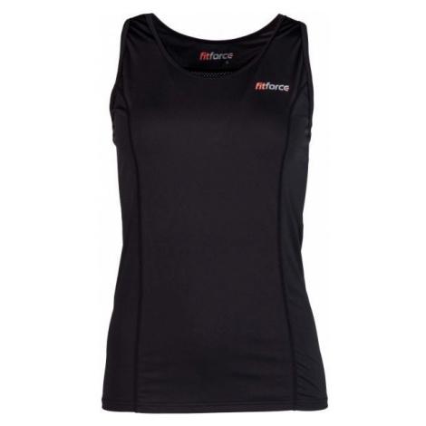 Fitforce LACIE black - Women's tank top