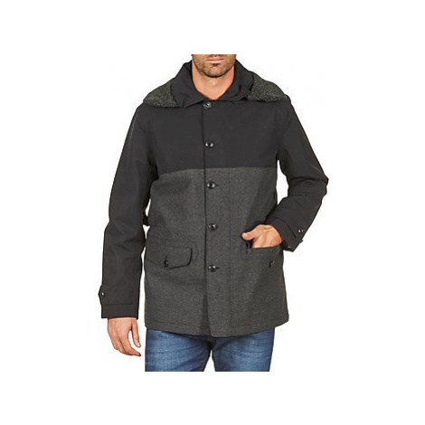 Aigle SHERPAFIELD men's Coat in Black