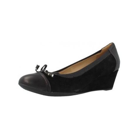 Geox D FLORAIRE A CAMP women's Shoes (Pumps / Ballerinas) in Black