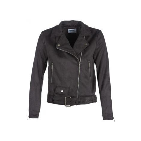 Black women's spring/autumn jackets