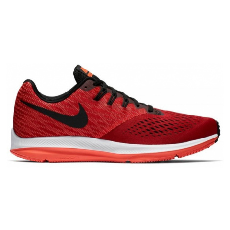 Nike AIR ZOOM WINFLO 4 red - Men's running shoes