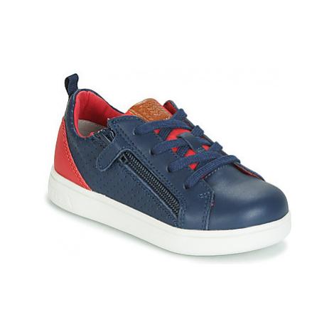 Geox B DJROCK BOY boys's Children's Shoes (Trainers) in Blue