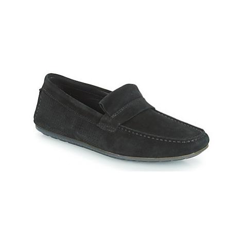 HUGO DANDY MOCC SDPF men's Loafers / Casual Shoes in Black Hugo Boss
