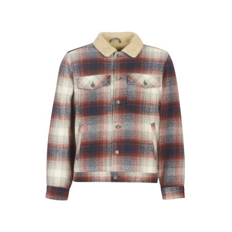 Billabong BARLOW SHERPA men's Jacket in Multicolour