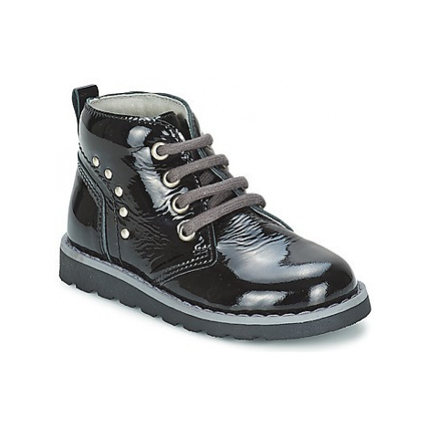 Citrouille et Compagnie ZANZIB girls's Children's Mid Boots in Black
