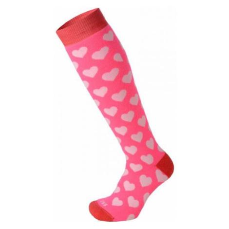 Mico KIDS PROTECTION pink - Children's ski socks