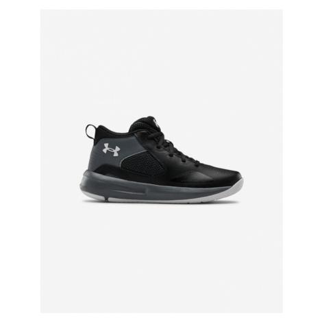 Under Armour GS Lockdown 5 Kids Sneakers Black Grey