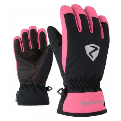 Ziener LARINO GTX JR pink - Kids' gloves
