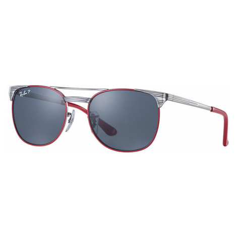 Ray-Ban Signet junior Unisex Sunglasses Lenses: Blue Polarized, Frame: Gunmetal - RJ9540S 218/2V