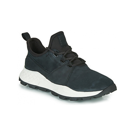 Timberland BROOKLYN LACE OXFORD men's Shoes (Trainers) in Black