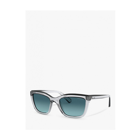 Ralph Lauren RA5263 Women's Rectangular Sunglasses, Crystal/Black