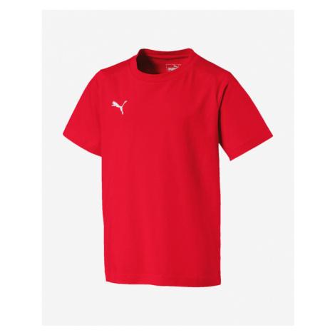 Puma Liga Casuals Kids T-shirt Red Colorful