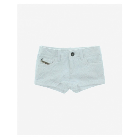 Diesel Kids Shorts White