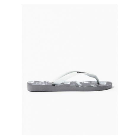 Mens Havaianas Grey Havai Top Camo Flip Flops, Grey