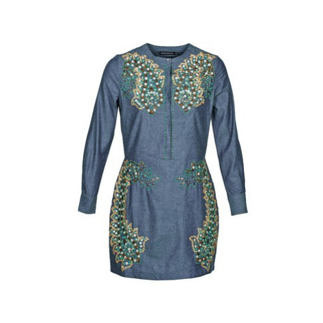 Antik Batik ALICE women's Dress in Blue
