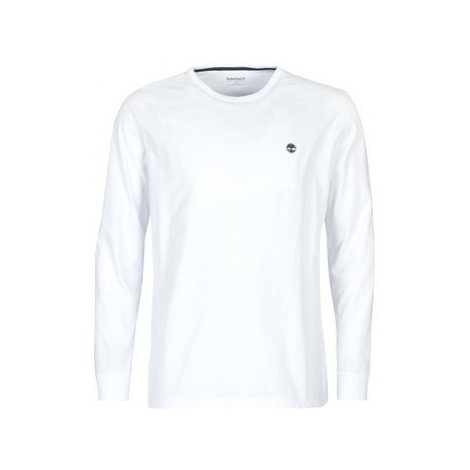Timberland LS Dunstan River Tee WHITE men's in White