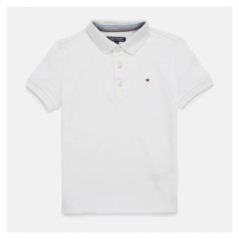 Tommy Hilfiger Boys' Short Sleeve Polo Shirt - Bright White