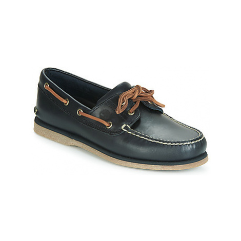 Timberland CLASSIC BOAT 2 EYE men's Boat Shoes in Blue