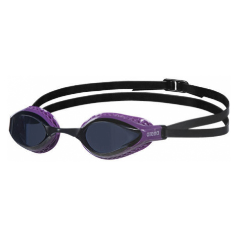 Purple equipment for swimming and diving