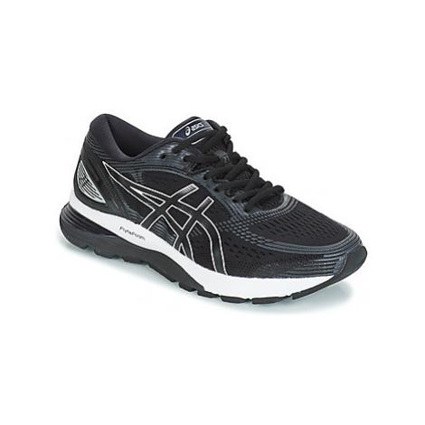 Asics GEL-NIMBUS 21 men's Running Trainers in Black