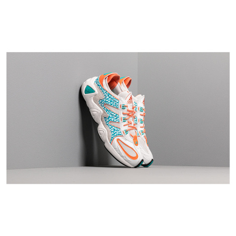 adidas FYW S-97 Crystal White/ Hi-Res Aqua/ Semi Core Orange