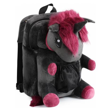 Corimori - Ruby the Punk Unicorn - Backpack - black-lilac