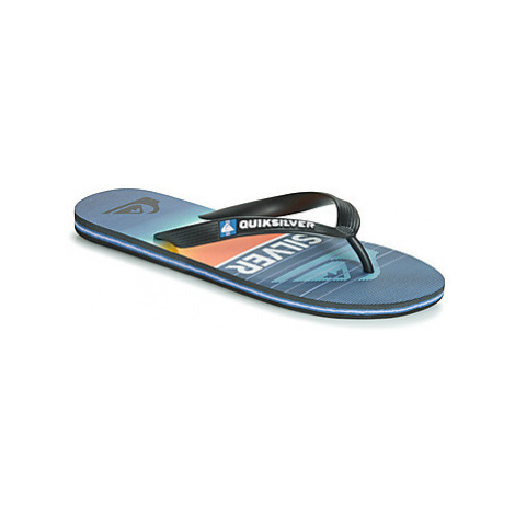 Quiksilver MOLOKAI HIGHLINE SLA M SNDL XKBB men's Flip flops / Sandals (Shoes) in Black