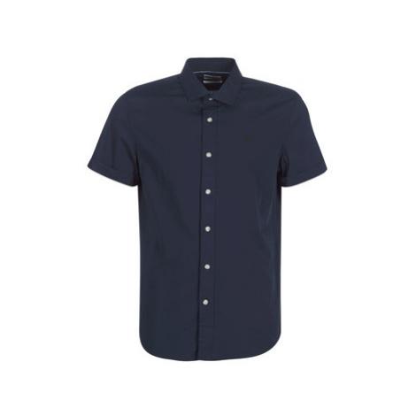 Timberland SS SHIRT WAVES men's Short sleeved Shirt in Blue