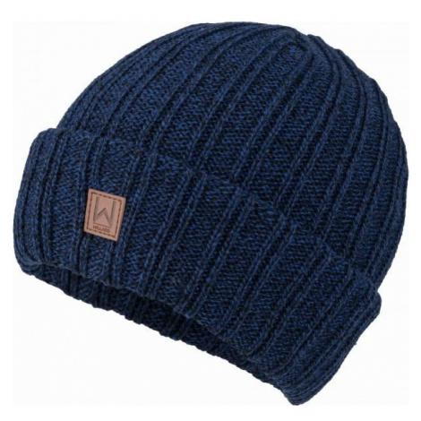 Willard CANAR dark blue - Men's knitted beanie