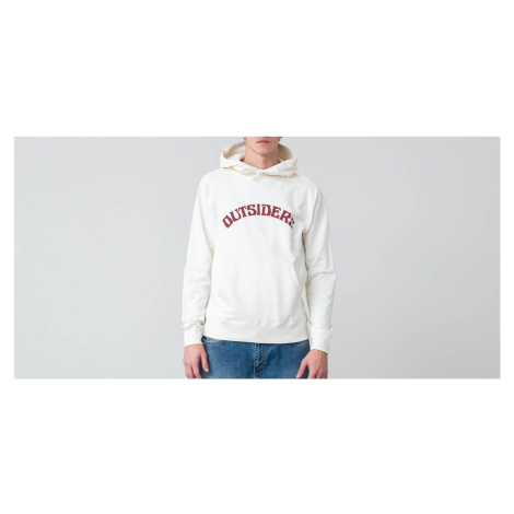 WOOD WOOD Fred Outsiders Popover Hoodie Off-White