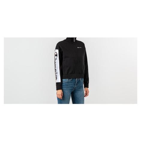 Champion Track Jacket Black/ Pink