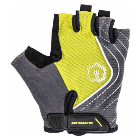 Arcore JADE gray - Short finger cycling gloves